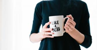 """Mug """"like a boss"""""""