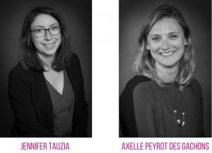Nos directrices des bureaux de Bodreaux et Toulouse - Jennifer Tauzia et Axelle Peyrot des Gachons